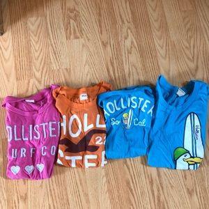 4 Hollister T-shirt's